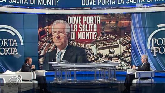 Monti a Porta a Porta 14-1-2013