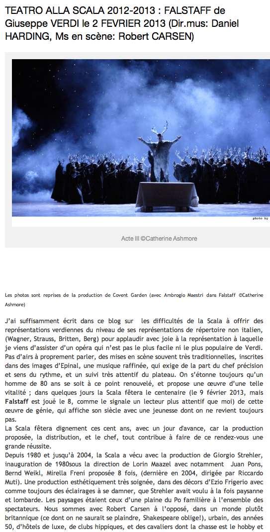 Falstaff Le Monde