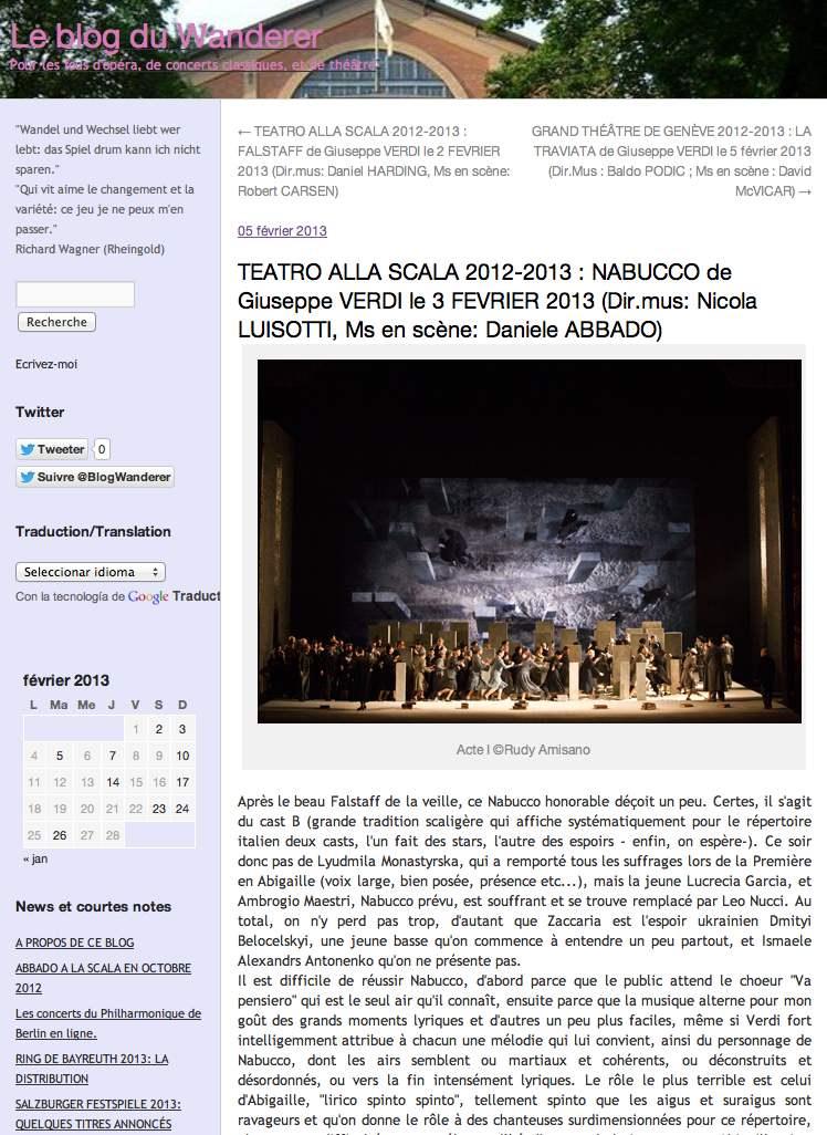 Nabucco le monde