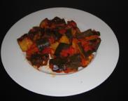 Berenjenas al curry