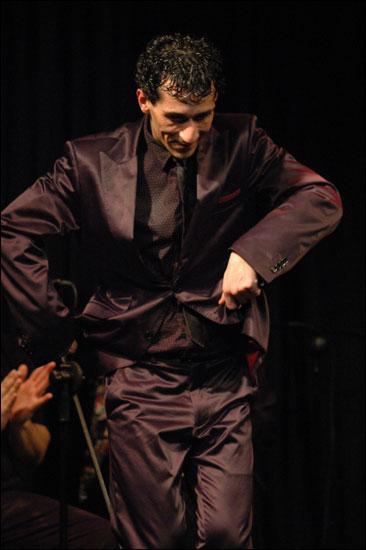 La personalidad de Miguel Téllez al baile