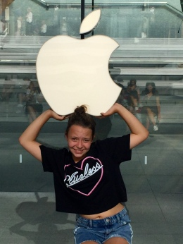Morgane et Apple