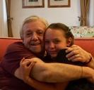 Il nonno e la nipotina
