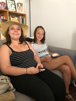 Anastasia et Morgane, nos petites filles