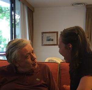 Le grand-père et la peite fille