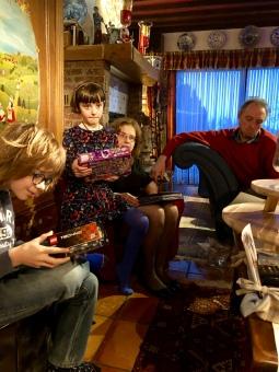 Gaetan, Diane, Catherine et Daniel